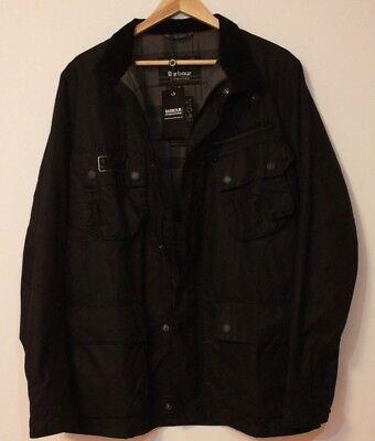 NEW NWT BARBOUR INTERNATIONAL Jacket Mens UK DOVENBY WAXED