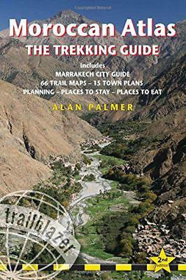 Moroccan Atlas - The Trekking Guide: Includes Marrakech City Guide, 50 Trail Map