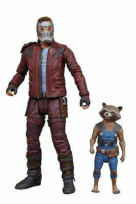 Diamond Select Toys Marvel Select Guardians Of The Galaxy 2 Star-Lord & Rocket A