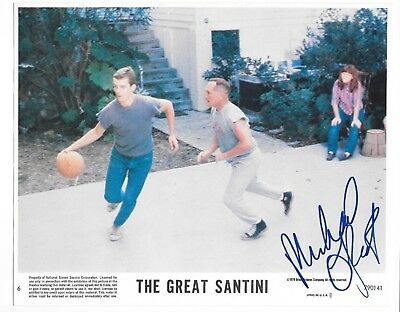 """Michael O'Keefe Signed 8 x 10 Photo From """"The Great Santini"""""""