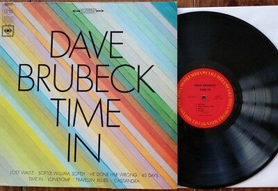 DAVE BRUBECK, Time In, Columbia Stereo Version 1966, CS 9312, VG+, VG+
