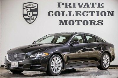 2013 Jaguar XJ Base Sedan 4-Door 2013 Jaguar XJ 1 Owner Clean Carfax Low Miles Pristine Factory  Warranty