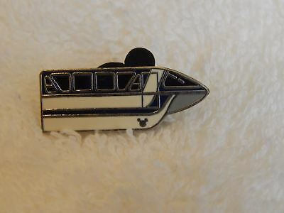Disney WDW Cast Lanyard Series 3, Monorail Blue, With Hidden Mickey Trading Pin