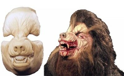 Werewolf Face Foam Latex Prosthetic cosplay Wolf Halloween Special Effects