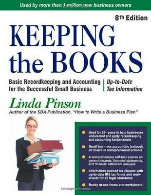KEEPING THE BOOKS by LINDA PINSON | Paperback Book | 9780944205570 | NEW
