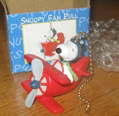 Snoopy Ceiling Fan / Lamp Chain Pull - Peanuts Gang