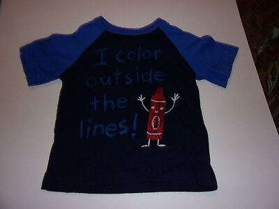 Circo: Baby Boys 18 Months T-Shirt , / I Color Outside The Lines