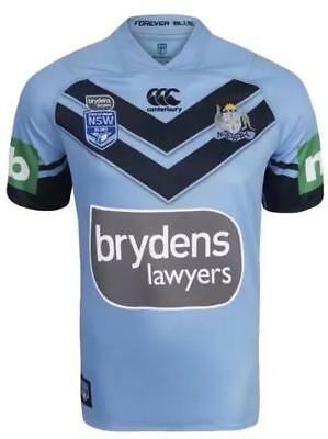 New 2018 NSW Rugby Jersey shirt rugby T shirt tee SIZE:S-3XL