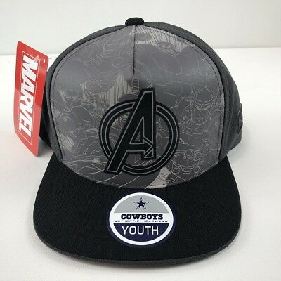 78f80b54a Dallas Cowboys Marvel Captain America Youth Snapback Cap One Size  (Adjustable)
