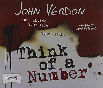 Think of a Number by Verdon, John | Audio CD Book | 9781471293191 | NEW
