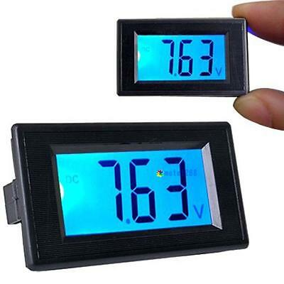 DC 3.5V-30V LCD Digital Voltage Volt Meter Voltmeter Panel Blue Backlight THC
