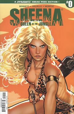 Sheena (Dynamite) #0C 2017 VF/NM 9.0 Stock Image