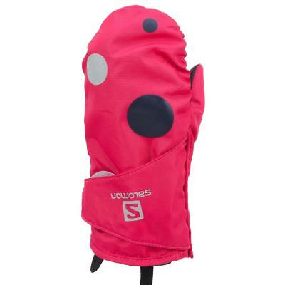 Moufles Salomon Baboo pink mitten jr Rose 27898 - Neuf