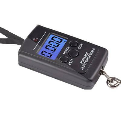 Portable 40kg Pocket Digital Travel Hanging Luggage Weight Electronic Hook Scale