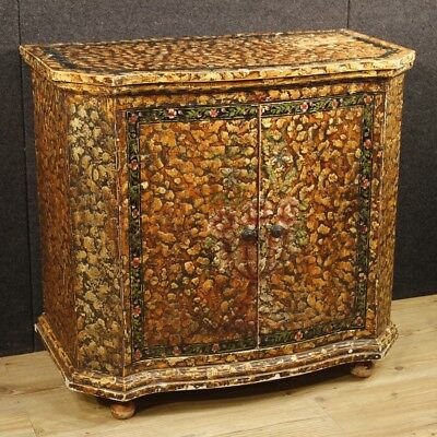 Painted sideboard French furniture wood dresser chest of drawers antique style
