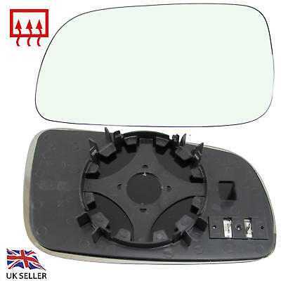 Vw Golf Mk4 1996-04 Bora Jetta Wing Mirror Glass Heated Left Nearside  Passenger