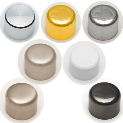 Varilight Replacement Universal Dimmer Switch Knobs White Brass Chrome Black
