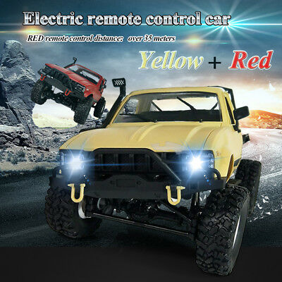 AU - 2.4GHz RC Car 1/16 Remote Control 4WD Off Road Large Rock Crawler w/Battery