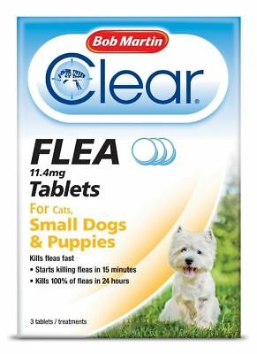 Bob Martin - Clear Flea Treatment for Small Dogs & Puppies x Size: 3 Tablets