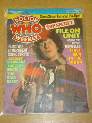 Doctor Who #22 1980 Mar 12 British Weekly Monthly Magazine Dr Who Dalek Cybermen