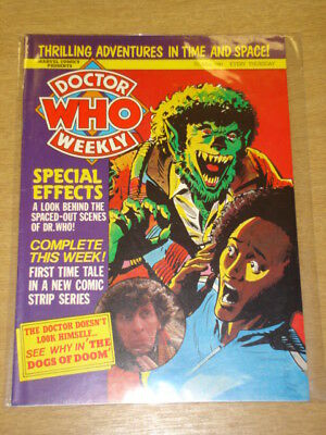 Doctor Who #30 1980 May 7 British Weekly Monthly Magazine Dr Who Dalek Cybermen