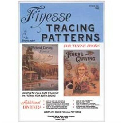 Finesse Leather Tracing Patterns Pack - Carving Designs Leathercraft 61952-00