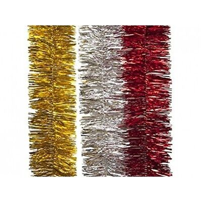 8 jumbo silver foil christmas make fill your own party crackers 2m 20cm jumbo shiny foil tinsel christmas xmas tree decoration silver redgold solutioingenieria Gallery