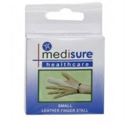 Petit Cuir De Doigts - Medisure Stall Finger Leather Small Spine Injury Support