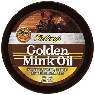 Fieb Golden Mink Oil Preserver - Fiebing Company Gldn Mink Leather 6 Ounces