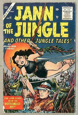 Jann of the Jungle #11 1956 GD/VG 3.0