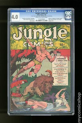 Jungle Comics (Fiction House) #1 1940 CGC 4.0 1104704002