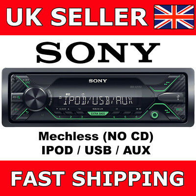 Sony DSX-A212Ui Mechless Digital Media Car Van Stereo iPod iPhone USB Aux In