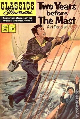 Classics Illustrated 025 Two Years Before the Mast #11 1967 VG 4.0 Stock Image