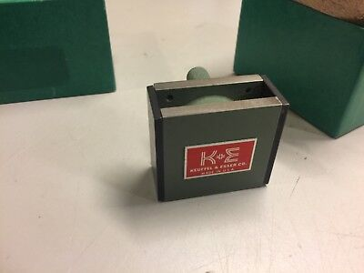 ( magnetic base scale holder ) for holding K+E WYTEFACE OPTICAL TOOLING SCALE