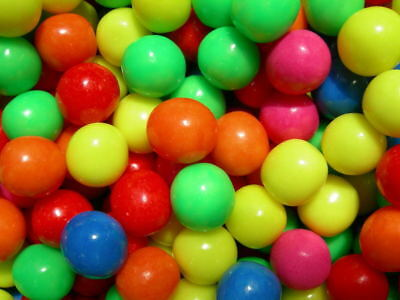 100 Small Bubble Gum Suitable For Gum Ball Machines