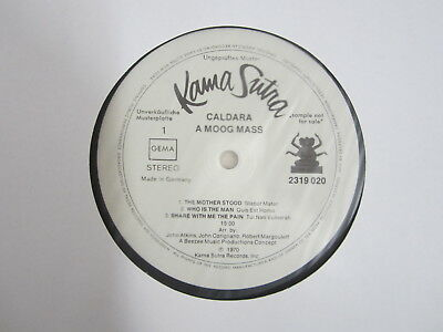 LP- Caldara ‎– A Moog Mass  / MUSTERPLATTE / ARCHIV / MINT / RAR /
