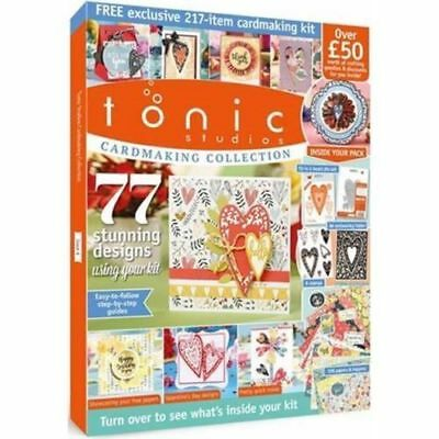 Tonic Studios Cardmaking Collection Kit - Issue 4 - Over £50 Of Crafting Goodies