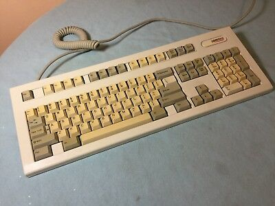 Vintage Compaq Enhanced II Keyboard PS/2 - BAD Space Bar - AS-IS/Parts Only