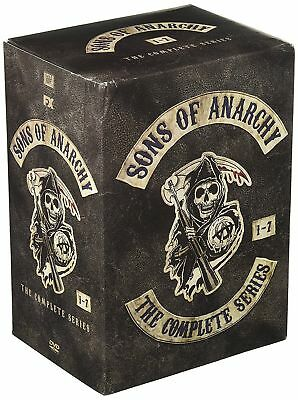 Sons of Anarchy: The Complete Series, Seasons 1-7 (DVD, 2015) NEW!