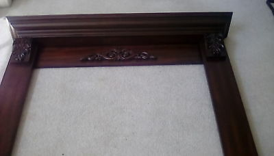 FIREPLACE MANTEL--CHERRY FINISH... (New in Box) ...FREE SHIPPING