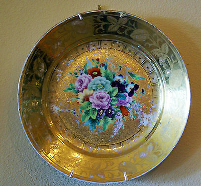 RUSSIAN IMPERIAL PORCELAIN FACTORY 19th CENTURY PLATE