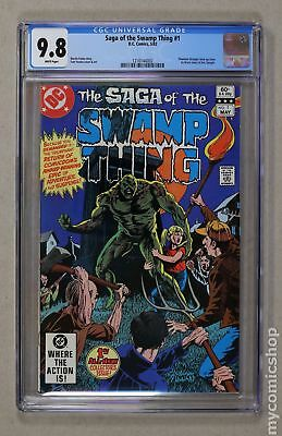 Swamp Thing (2nd Series) #1 1982 CGC 9.8 1216144002