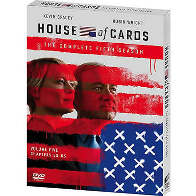 House of Cards: Season Five (DVD, 2017) NEW!