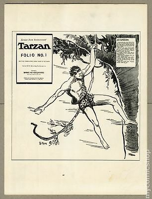Tarzan Folio (House of Greystoke) #1 1969 VG- 3.5