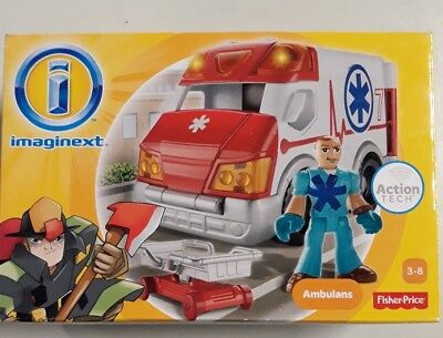 imaginext Ambulans Fisher-Price 3-8
