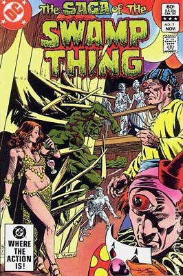 Swamp Thing (2nd Series) #7 1982 FN Stock Image