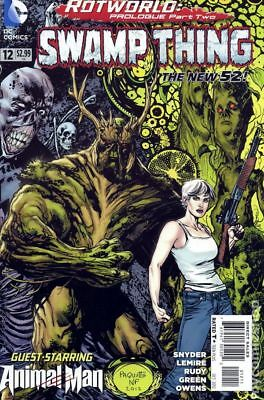 Swamp Thing (5th Series) #12 2012 VF Stock Image