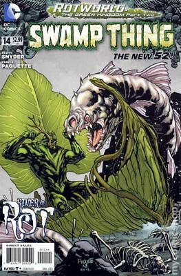 Swamp Thing (5th Series) #14A 2013 FN Stock Image