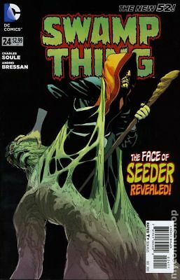 Swamp Thing (5th Series) #24 2013 FN Stock Image