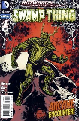 Swamp Thing (5th Series) Annual #1 2012 VF Stock Image